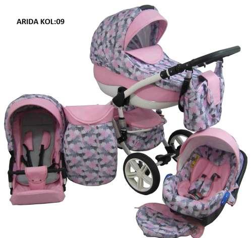Babycruiser Arida Babakocsi KOL:09 #rózsaszín