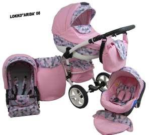 Babycruiser Arida Babakocsi KOL:08 #rózsaszín 30324097