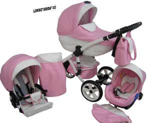 Babycruiser Arida Babakocsi KOL:03 #rózsaszín-fehér 30324098