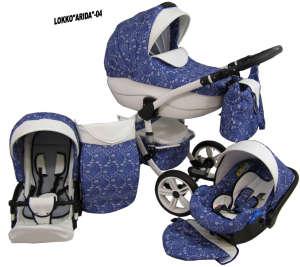 Babycruiser Arida Babakocsi KOL:04 #kék-fehér 30324095