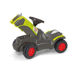 Rolly Minitrac Claas Xerion lábbal hajtós mini Traktor #szürke-zöld 30476137 Bébitaxi, kismotor