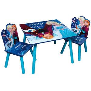 Jégvarázs fa Kisasztal két székkel #kék 30476627