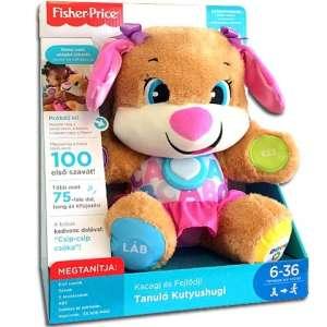 Fisher Price Interaktív Plüss - Kutya #barna-rózsaszín 30306391 Interaktív plüss