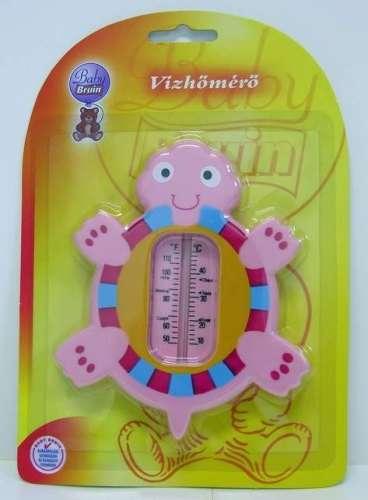 Baby Bruin vízhőmérő teknős #rózsaszín