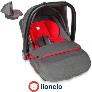 Lionelo Noa Plus Autóshordozó 0-13kg #piros 30447719 Hordozók