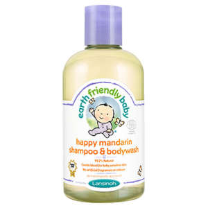 Earth Friendly Baby Mandarinos Sampon-és tusfürdő 250ml 30290188