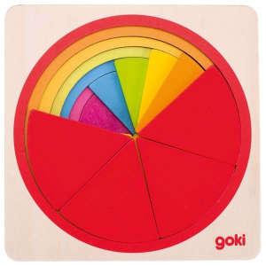 Fa kirakó - Színes körök 30994195 Fejlesztő játék ovisoknak