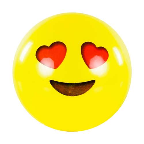 Labda 22cm  - Smiley #sárga