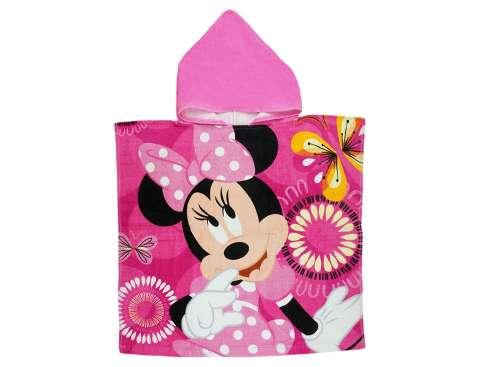 Disney Minnie lányka frottír fürdőponcsó  rózsaszín  15971b411e