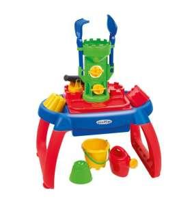 Abrick Homokozó asztalka #kék-piros 30481556