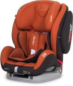 EasyGo Nino Isofix Biztonsági Autósülés  9-36kg - Copper #narancssárga 2018 30306192 Easy Go Gyerekülés