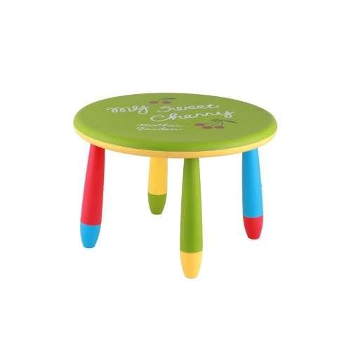 Chipolino műanyag kisasztal - Green Cherry