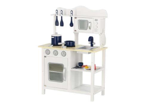 Classic fa Játékkonyha + Ajándék konyha szett  fehér  2c8ebd2910