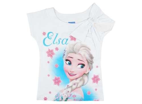 Disney Frozen-Jégvarázs lányka dekor vállú Póló