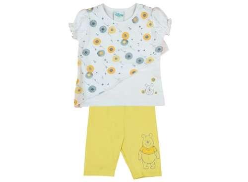 Disney lány 2 részes Szett - Micimackó #sárga-fehér 30391355