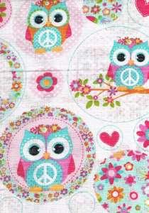 Textil pelenka 1db - Bagoly #rózsaszín 30311229 Textil pelenka