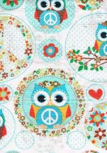 Textil pelenka 1db - Bagoly #kék 30305411 Textil pelenka