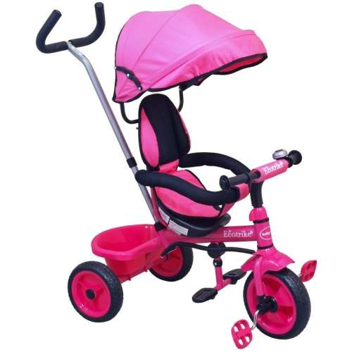 Baby Mix Ecotrike gyermek Tricikli #pink