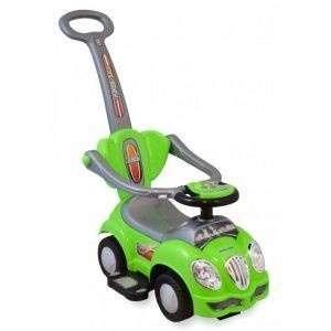 Baby Mix zenélő bébitaxi tolókarral #zöld