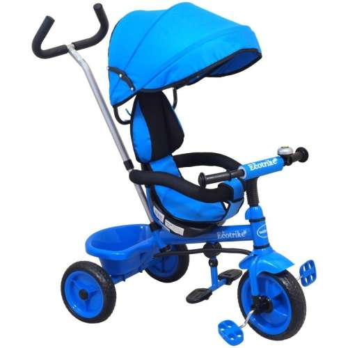 Baby Mix Ecotrike gyermek Tricikli #kék