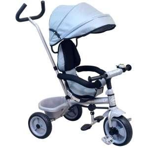 Baby Mix Ecotrike gyermek Tricikli #szürke 30303196