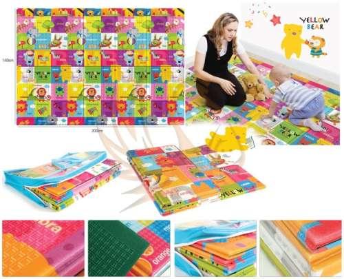 Parklon Összecsukható matrac Hello Bear Note 140x200cm