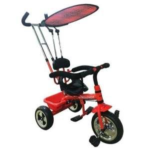 Baby Mix Tricikli tolókarral és lábtartóval #piros 30377135