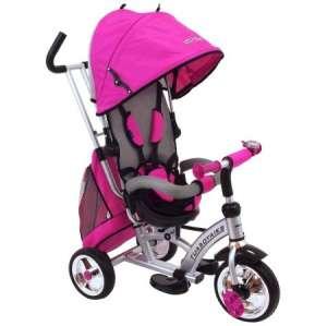 Babymix átfordítható, dönthető Tricikli #rózsaszín 30399442
