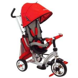Babymix átfordítható dönthető Tricikli #piros 30390459