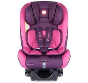 Lionelo Sander Isofix Biztonsági Autósülés 0-36kg #lila-rózsaszín 30322936 Lionelo Gyerekülés