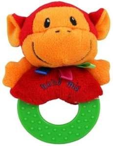 Baby Mix majmos Plüssjáték #piros 30323144