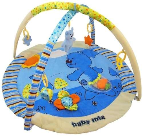 Baby Mix állatkás Játszószőnyeg #kék