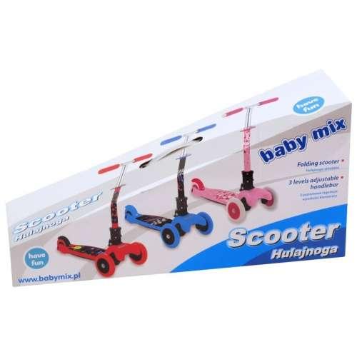 Baby Mix háromkerekű Roller #rózsaszín