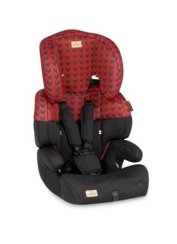 Lorelli Junior Autósülés 9-36kg #piros-fekete 2018