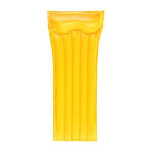 Sárga felfújható strandmatrac 183x76cm 30476189
