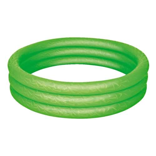 Zöld háromgyűrűs felfújható medence 183cm