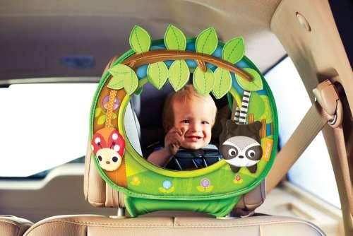 Munchkin Brica Swing Autós tükör #zöld