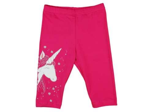 Lányka 3/4-es Rövidnadrág - Unikornis #rózsaszín