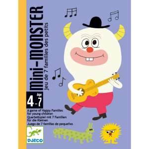 Djeco - Mini Monster Kártyajáték 30404931