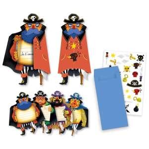 Djeco - Pirates Meghívókártya 30404519