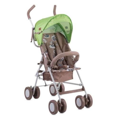 Lorelli Trek sport Babakocsi #zöld-barna