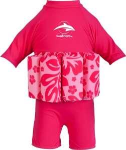 Konfidence Pink Hibiscus Úszóruha 30486484