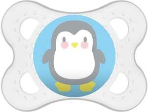 Mam Clear 2-6+ szilikon cumi - Pingvin 30327163