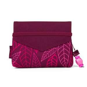 Satch Clutch - Purple Leaves 30403745