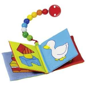Textil babakönyv csíptetővel 30327360 Textil könyv gyerekeknek