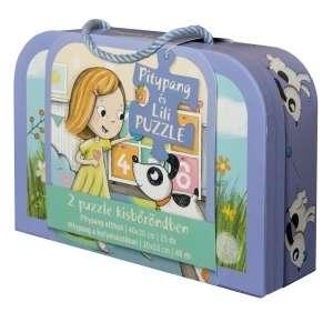Pitypang és Lili - bőröndös Puzzle 30404594 Puzzle gyereknek