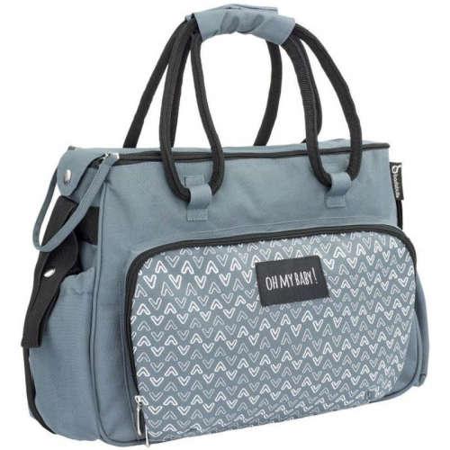 Badabulle Pelenkázó táska #szürke