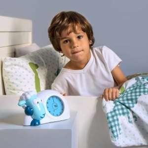 SAM – Ébresztőóra (sleeptrainer) és éjjeli fény#kék 30486151 Falióra, ébresztőóra