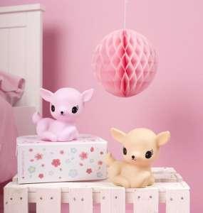 A Little Lovely Company – Mini Lámpa- Őzike #rózsaszín 30483453