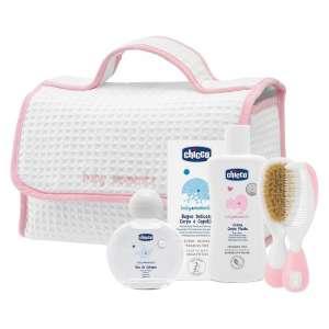 Chicco Kozmetikum táska - 5db #rózsaszín 30328528 Ápolási szett